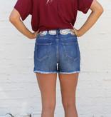 Punchy's Frayed Denim Shorts