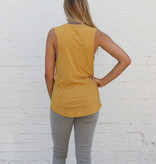 Punchy's Mustard Texas Chica Tank