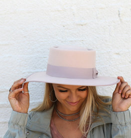 Punchy's The Blush Gambler Wool Hat