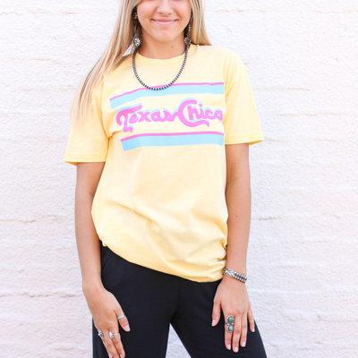Punchy's Retro Texas Chica Tee