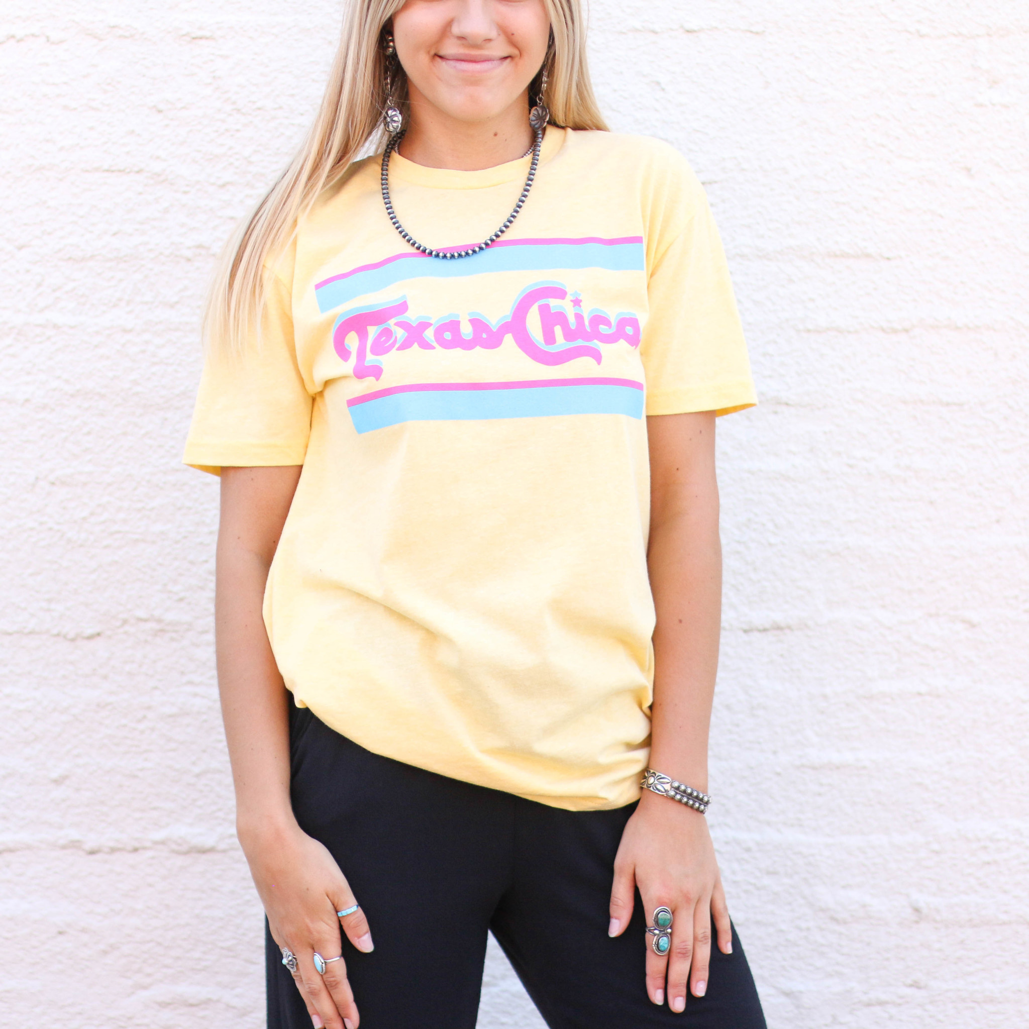 Punchy's Retro Texas Chica Tee