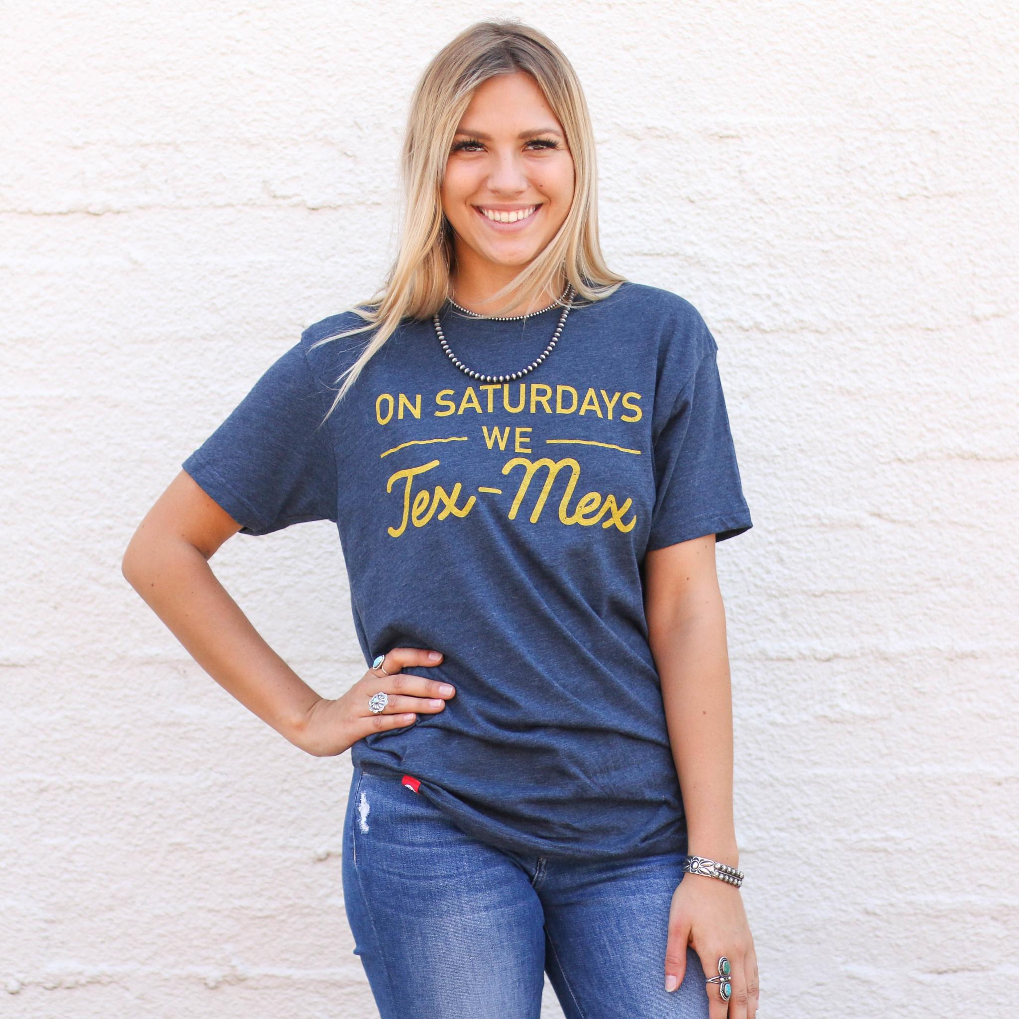 Punchy's On Saturdays We Tex Mex Tee