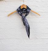 Punchy's Silky Black Traditional Bandana Wildrag