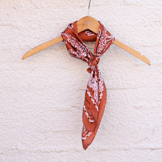 Punchy's Silky Rust Traditional Bandana Wildrag
