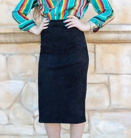Punchy's Black Isabella Skirt