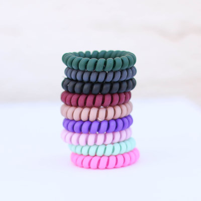 Punchy's Matte Coil Hair Tie
