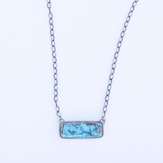 Punchy's 18 inch Simple Bar Necklace