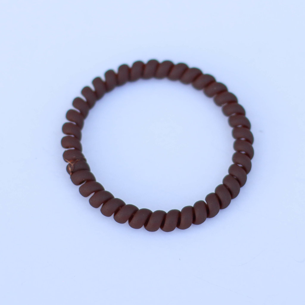 Punchy's Skinny Matte Coil Hair Tie
