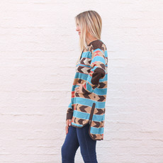 Punchy's Arrow Blanket Pullover