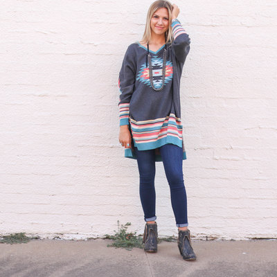 Punchy's Aztec Pullover