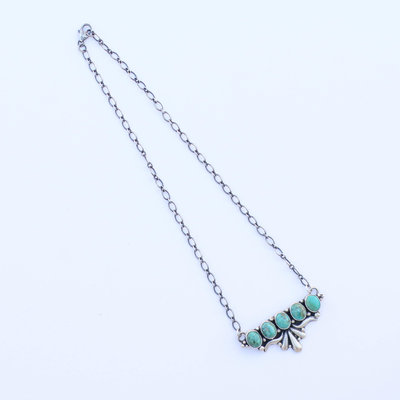 Punchy's The Turquoise Cinco Sydney Necklace