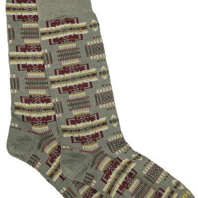 Punchy's Sage Chief Joseph Crew Sock