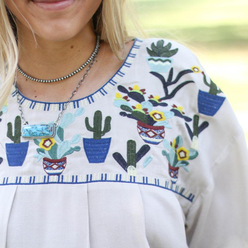 Punchy's Cactus Fiesta Top