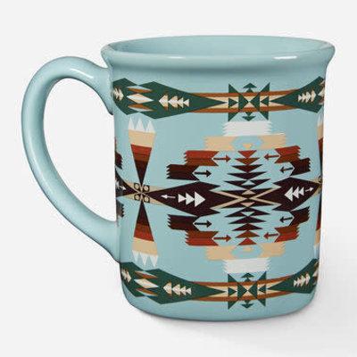 Punchy's Tucson Aqua Ceramic Mug