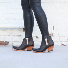 Punchy's Dixon Booties in Black