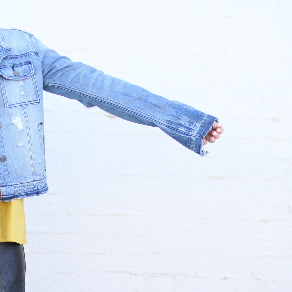Punchy's The Colleen Distressed Denim Jacket