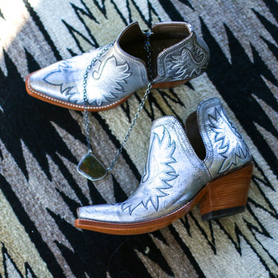 Punchy's Dixon Booties in Metallic