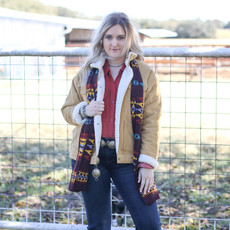 Punchy's Redtop Knit Scarf