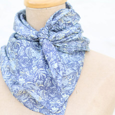 Punchy's Calico Blue Paisley Wildrag