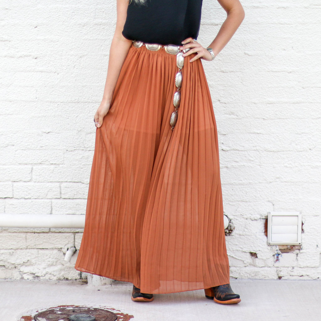 Punchy's Brick Pleated Pant