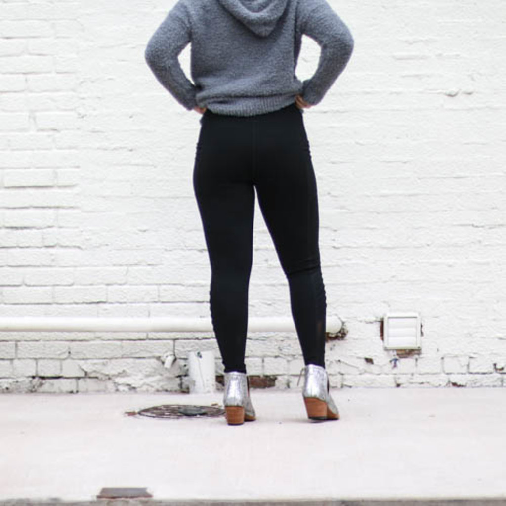 Punchy's Black Leggings with Pockets