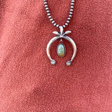 Punchy's Hook Naja Pendant with Turquoise