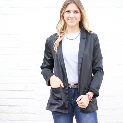 Punchy's Black So Chic Blazer