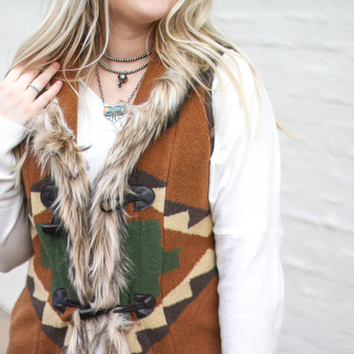 Punchy's The Cody Vest Green