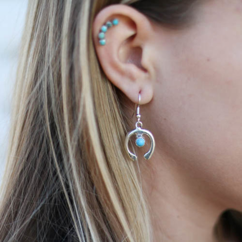 Punchy's Hook Naja Earring with Turquoise