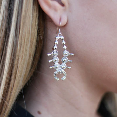 Punchy's Squash Blossom Earring