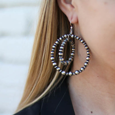 Punchy's Layered Circle Navajo Hoops