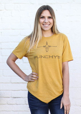 Punchy's Mustard Branded PUNCHY'S Tee