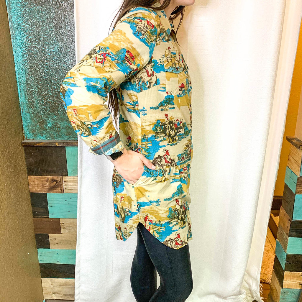 Punchy's Tall Drink of Retro Tunic