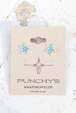 Turquoise Star Dazed Stud Earring