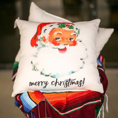 Punchy's Holiday Pillows