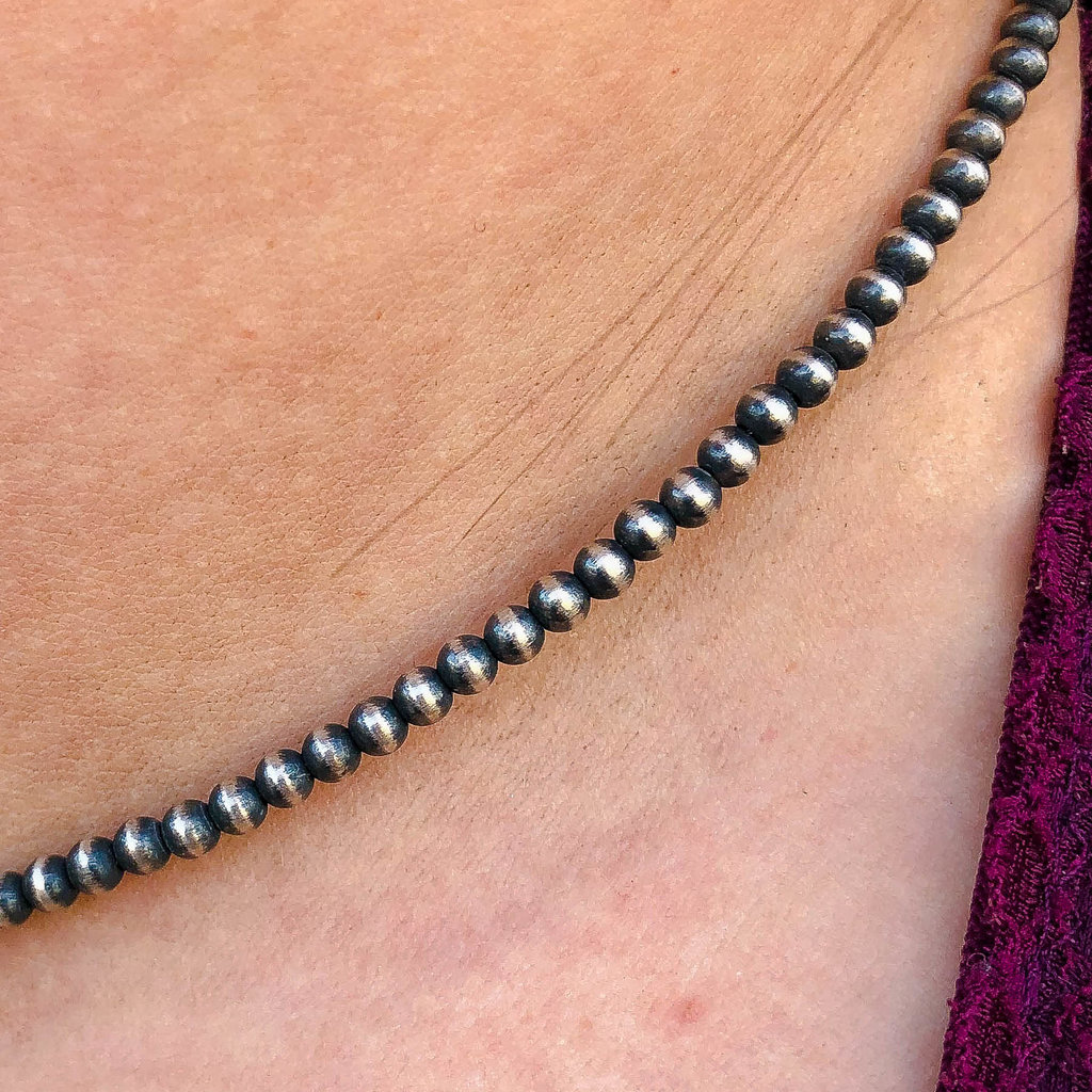 Punchy's 3mm 16in Navajo Pearls