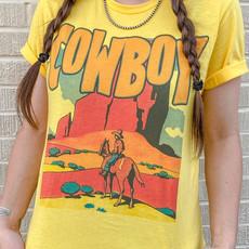 Punchy's Mustard Grand Canyon Cowboy Tee