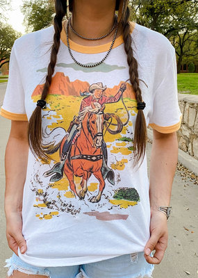 Punchy's Ol' Roy Rogers Horse Ringer Tee