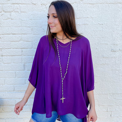 Punchy's Plum Perfect Blouse