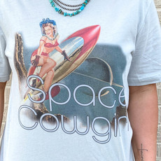 Punchy's Summer Lovin' Space Cowgirl Tee