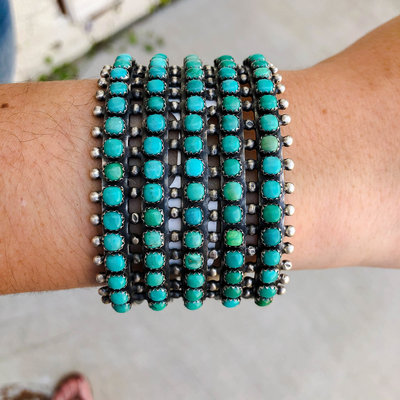 Punchy's The Turquoise Quin Cuff