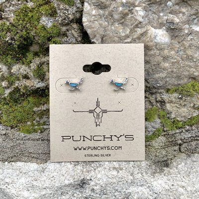 Punchy's Roadrunner Stud with Turquoise