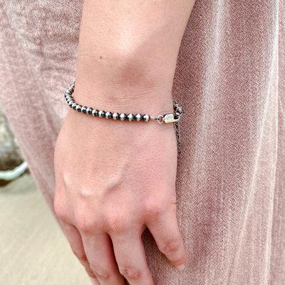 Punchy's 5 mm Adjustable Navajo Pearl Bracelet