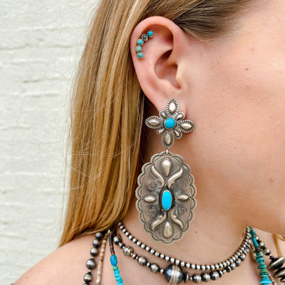 Punchy's The Turquoise Lolly Earrings