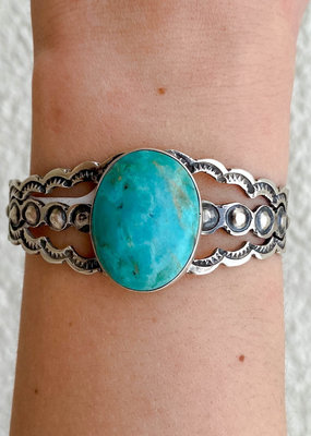 Punchy's The Faye Cuff Blue