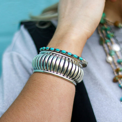 Punchy's Large Coiled Cuff