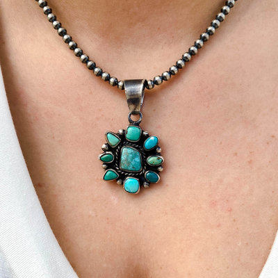 Punchy's Carico Lake Cluster Pendant #2