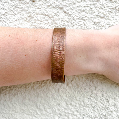 Punchy's Copper Cuff