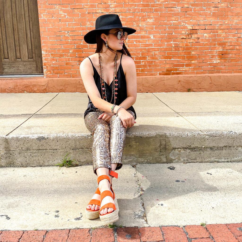 Punchy's Sequin Snake Skin Pants