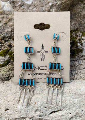 Punchy's Petite Chandelier Post Earring